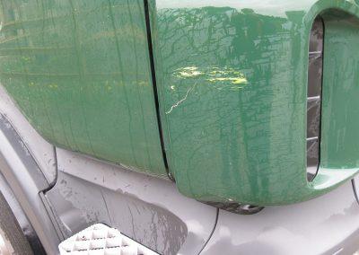 Schade aan carrosserie West-Vlaanderen