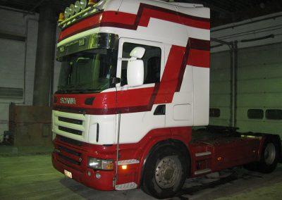 Vrachtwagen carrosserie herstellingen West-Vlaanderen