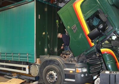 Vrachtwagengarage Roeselare