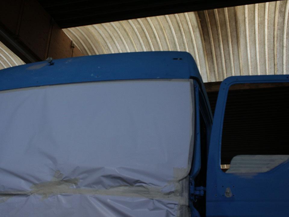 Herstellen carrosserie en spuitwerk - voor