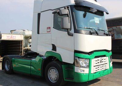 Herspuiten vrachtwagencabine - West-Vlaanderen